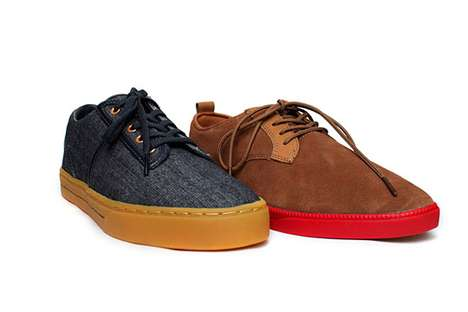 Two-Tone Street Sneakers