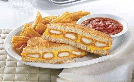 Heart Attack Cheese Treats - Denny's 'Fried Cheese Melt' Mixes Fried Mozzarella & Grilled Cheese
