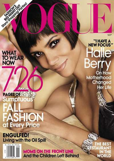 The Halle Berry US Vogue September 2010 Cover is Radiant