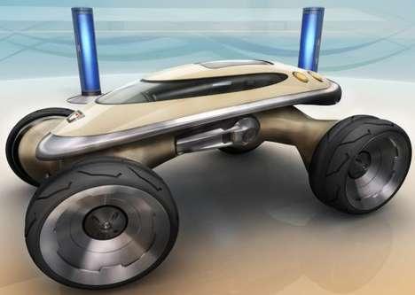Amphibious ATVs