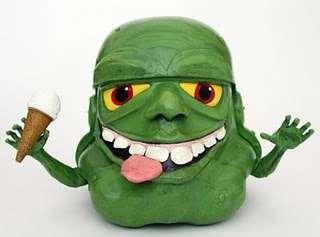 Green Alien Headgear