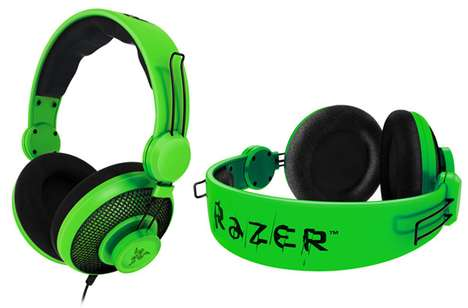 Green Gamer Headsets