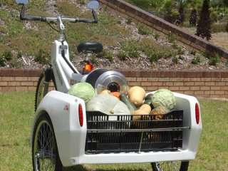 Fuel Cell-Powered Tricycles