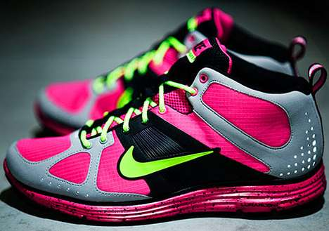 Highlighter-Bright Sneakers