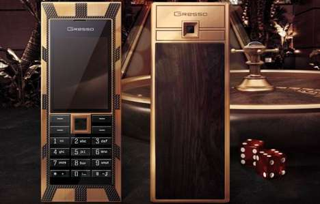 $1 Million Mobiles - The Luxor Las Vegas Jackpot Phone from Gresso Costs a Small Fortune