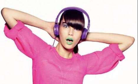 Lime Green Lipstick
