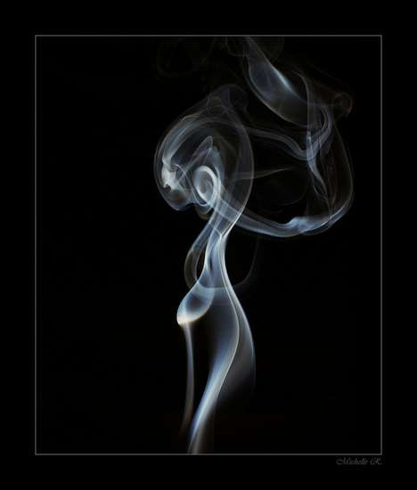 Smoky Silhouette Photography