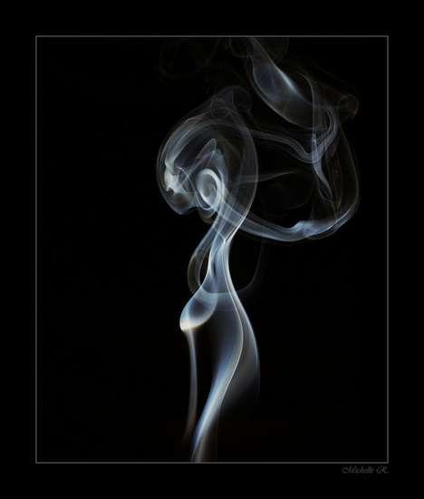 Smoky Silhouette Photography
