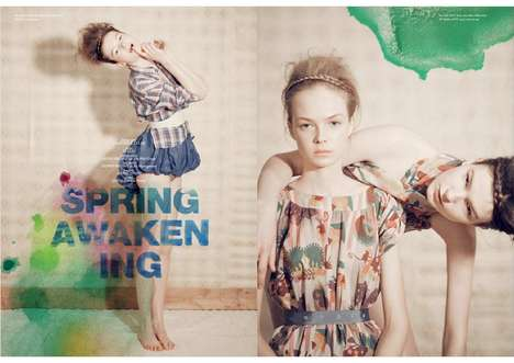 The Spring Awakening Spread in IT Post Spring Summer 2010 Keeps Things Soft