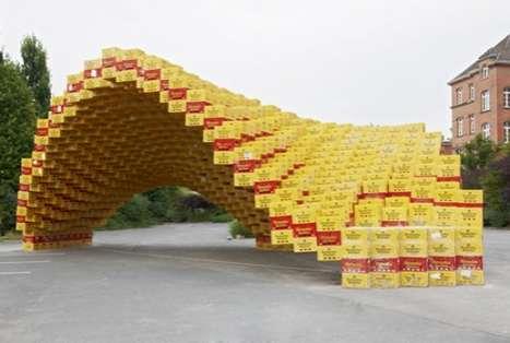 Beer Box Sculptures