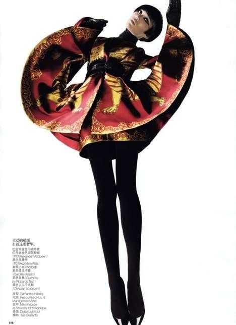 Upswept Kimono Jackets