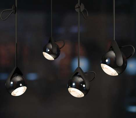 Suspended Orb Lighting