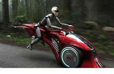 Flying Motorcycles - The MoonRider is a Hybrid Futuristic Two Wheeler