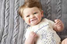 Geographic Baby Apparel - Maptote Onesies are for Your Globetrotting Little One
