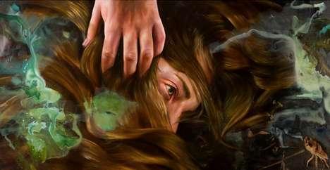 Paint Drowning Art