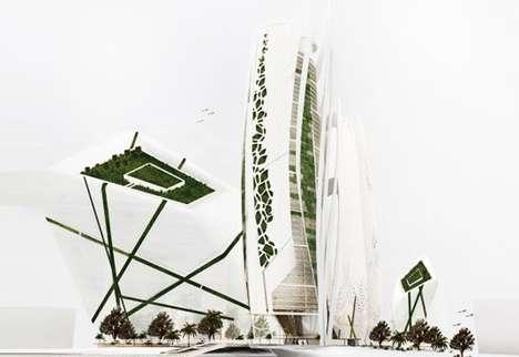 Sustainable Skyscraper Farms