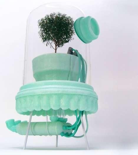 Incubator Flower Vases
