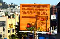 Hand-Carved Billboards - The Lay's Kettle Chips Billboard in California was Personally Crafted