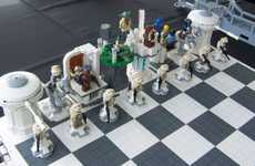 Doubly Nerdy Games - The LEGO 'Empire Strikes Back' Chess Set
