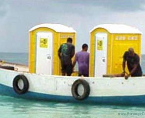 10 Outrageous Outhouses