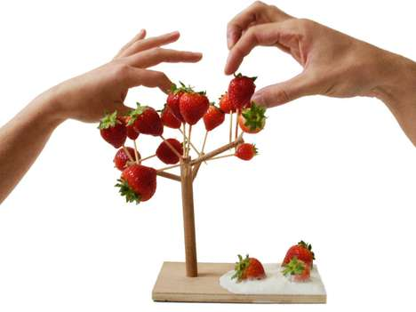 Fruit Bowl Branches - Pick Your Food Straight from the Tree with the 'Mangier' by Smarin