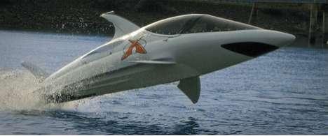 Shark-Shaped Watercrafts
