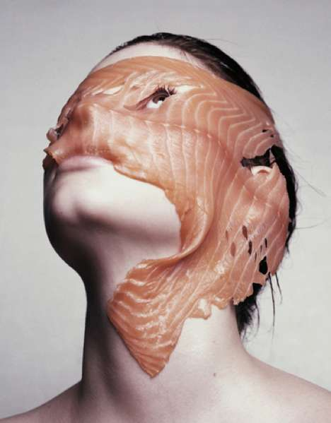 Dinner Plate Portraits - Photographer Marcel Van Der Vlugt Puts Food on Faces