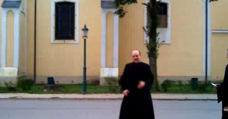 Skateboarding Priests