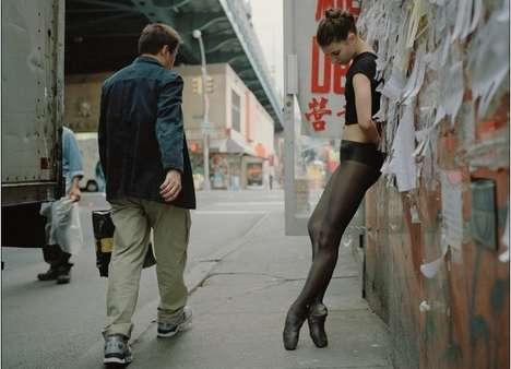Sidewalk Dancer Photography