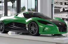 Solar-Powered Supercars - Peter Wilkins Designs a Lean, Mean Green Machine for Volkswagen