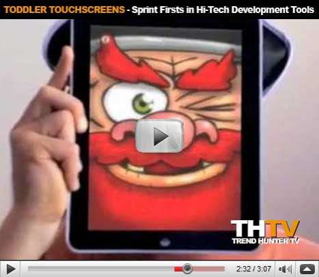 Toddler Touchscreens - Sprint Firsts in Hi-Tech Development Tools