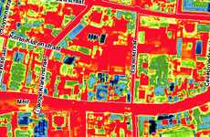 Color-Coded Heat Loss - 'Zoom Into Your Roof' Infrared Energy Maps Reveal Insulation Inefficiencies