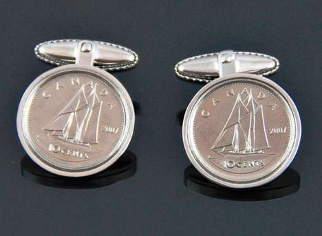Classy Coin Cufflinks