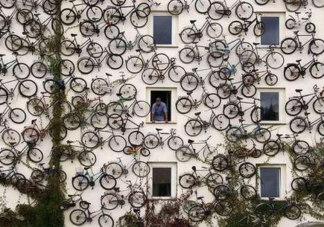 Bike-Covered Walls