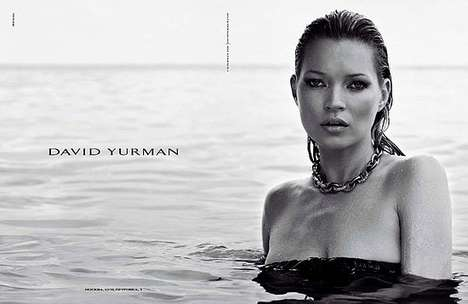 Sultry Submerged Celebs