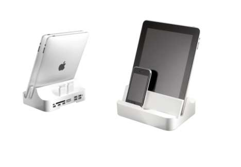 Double-Duty iPad Docks