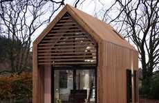 Portable Miniature Housing - The Dwelle.ing Brings Charm to Residential Downsizing