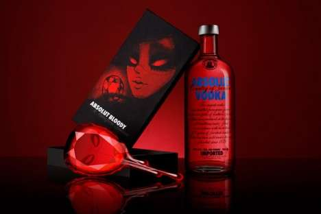 Creepy Alcohol Packaging