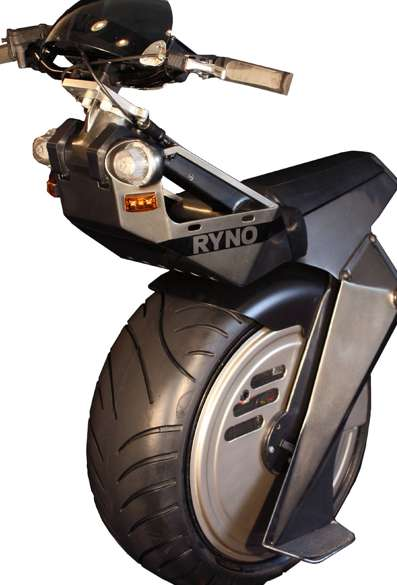 Single-Wheel Motorbikes - The Ryno Motors Electric Unicycle is a Monowheel Phenomenon