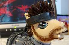 Cute Toy Transformers - The Solid Snake Little Pony is a More Manly Version of the Classic Toy