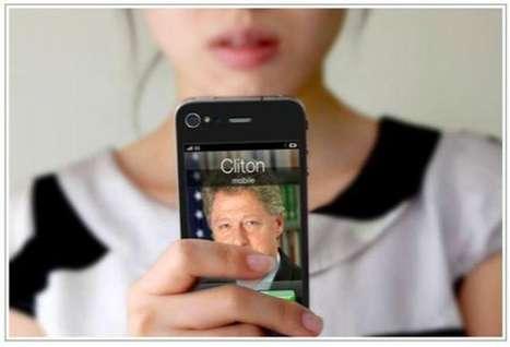 Celebrity Phone Stickers