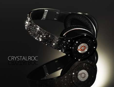 The Crystalroc Dr. Dre Beats Headsets Look as Good as They Sound