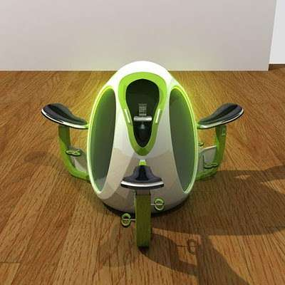 Egg-Shaped Exercycles