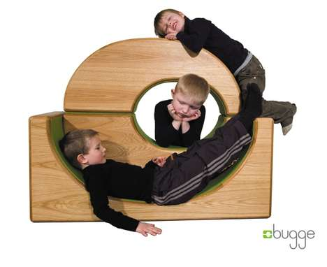 Versatile Mini Playgrounds - The Bugge Lets Your Child Play Without Sharp Edges
