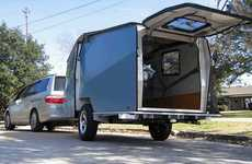 Nasa Inspired Mobile Homes - The Cricket Trailer Design Mimics a Space Shuttle's Close Quarters