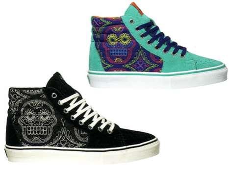 Skeletal Skate Shoes