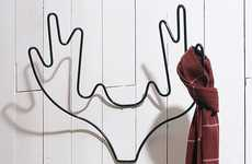 Wired Animal Coat Racks
