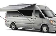 Luxury Travel Trailers - The 2011 Airstream 3500 Interstate is Constructed on a Mercedes