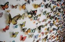 Fluttering Insect Installations