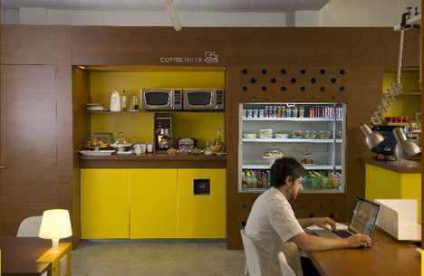 Coffee Shop Offices - Urban Station Will Provide an Ultra Comfortable Working Environment